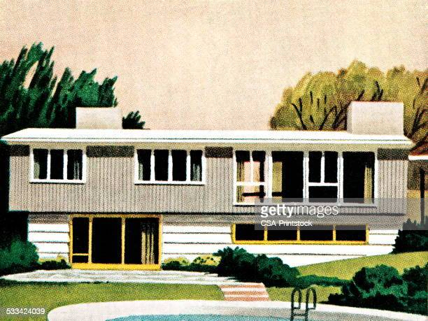 World\'s Best Midcentury Stock Illustrations - Getty Images