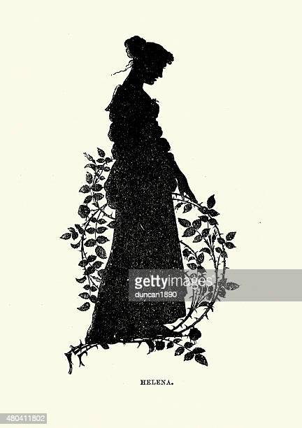 Midsummer Night's Dream - Silhouette of Helena