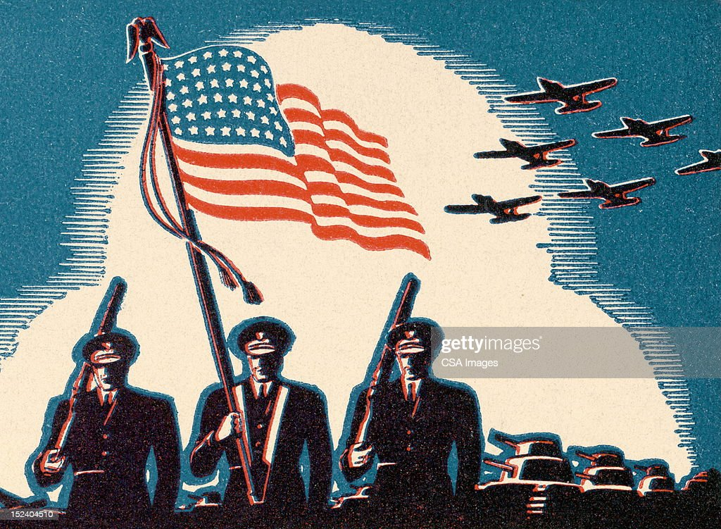 U.S. Military Forces : Stock Illustration