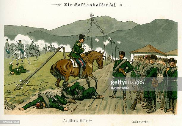 military of the balkan peninsula - balkans stock illustrations, clip art, cartoons, & icons
