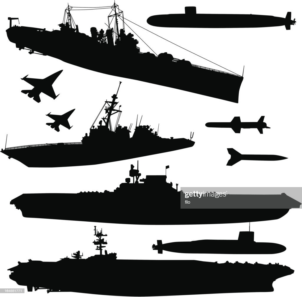 Military Ships and Elements