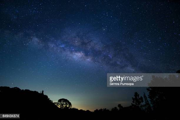 Milky Way at Doi Inthanon National Park, Chiang Mai, Thailand