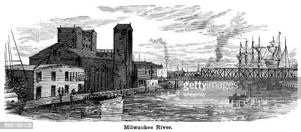 Milwaukee River (Victorian engraving)