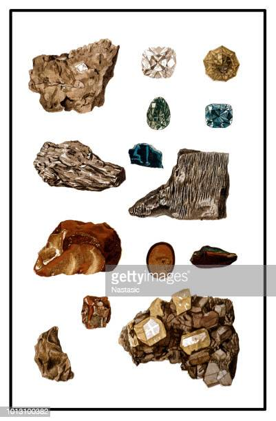 Minerals and Their Crystalline Forms