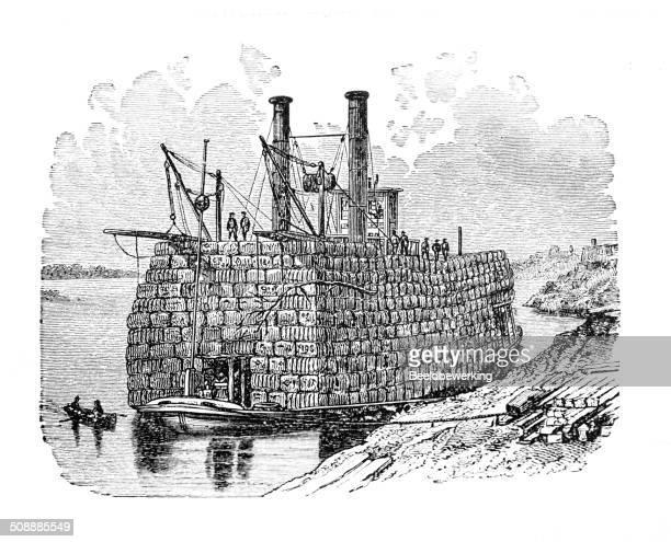Mississippi cotton ship
