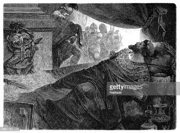 mithridates - herodotus stock illustrations