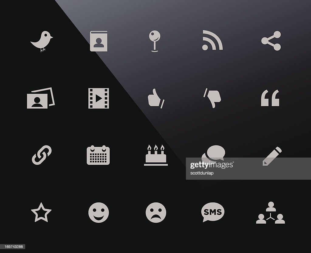 Mobi Icons   Social Media