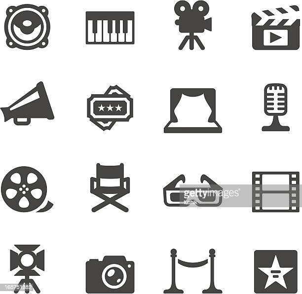 Mobico icons — Film industry
