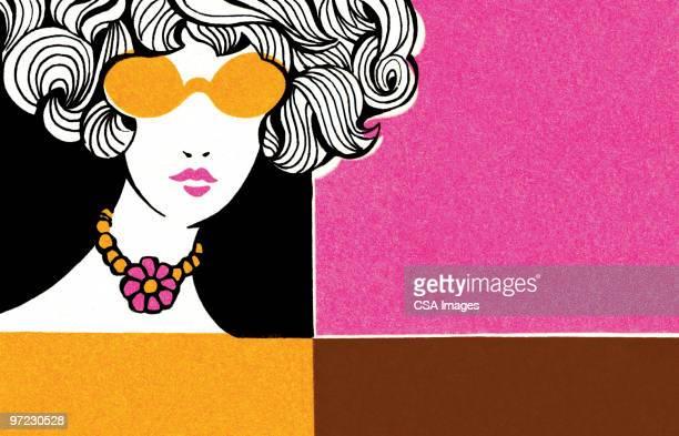 mod woman - 服飾品点のイラスト素材/クリップアート素材/マンガ素材/アイコン素材