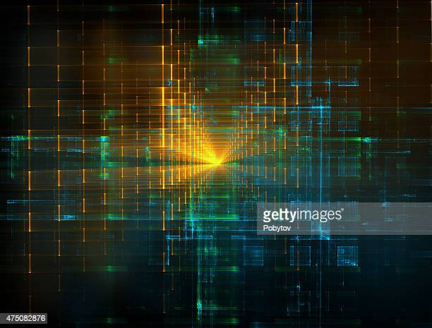 modern abstract background - fractal stock illustrations