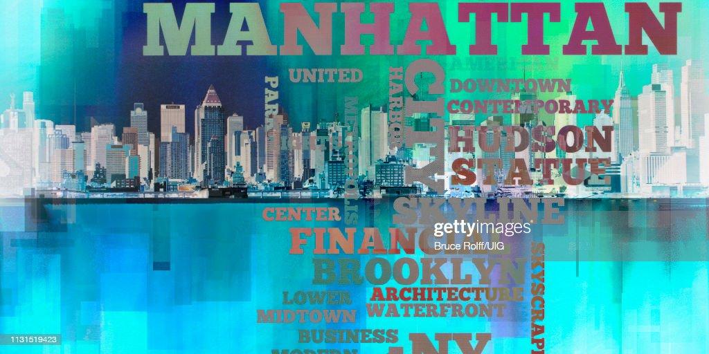 Modern Abstract, Manhattan : stock illustration