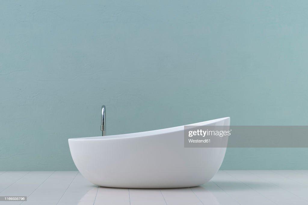Modern bathtub, 3D Rendering : ストックイラストレーション
