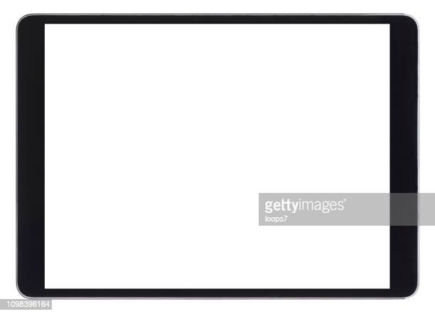 modern digital tablet - wide screen stock illustrations