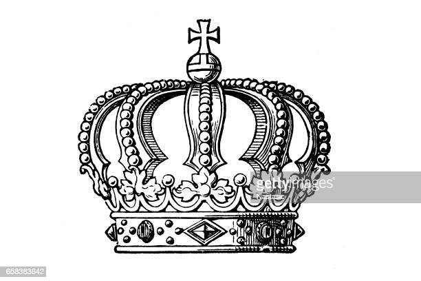 Modern royal crown