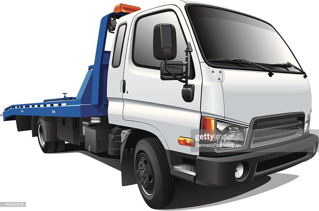 modern tow truck