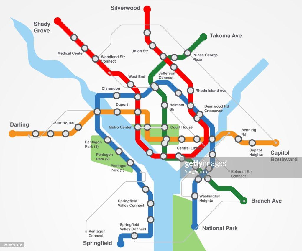 Modern urban transport : stock illustration