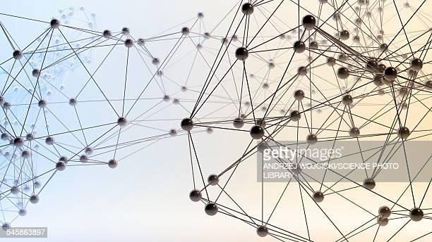 Molecular model, illustration