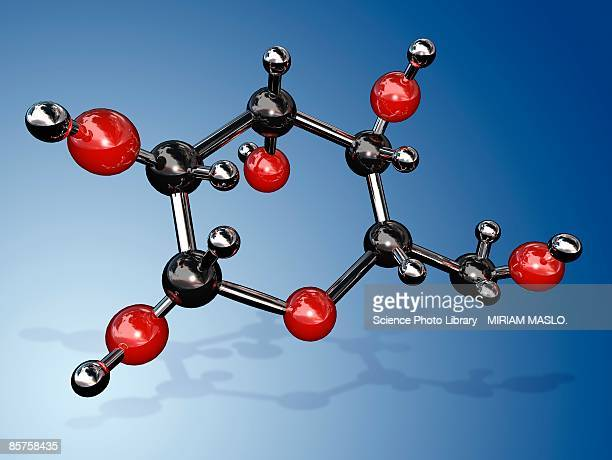 molecular structure of glucose - intricacy stock illustrations
