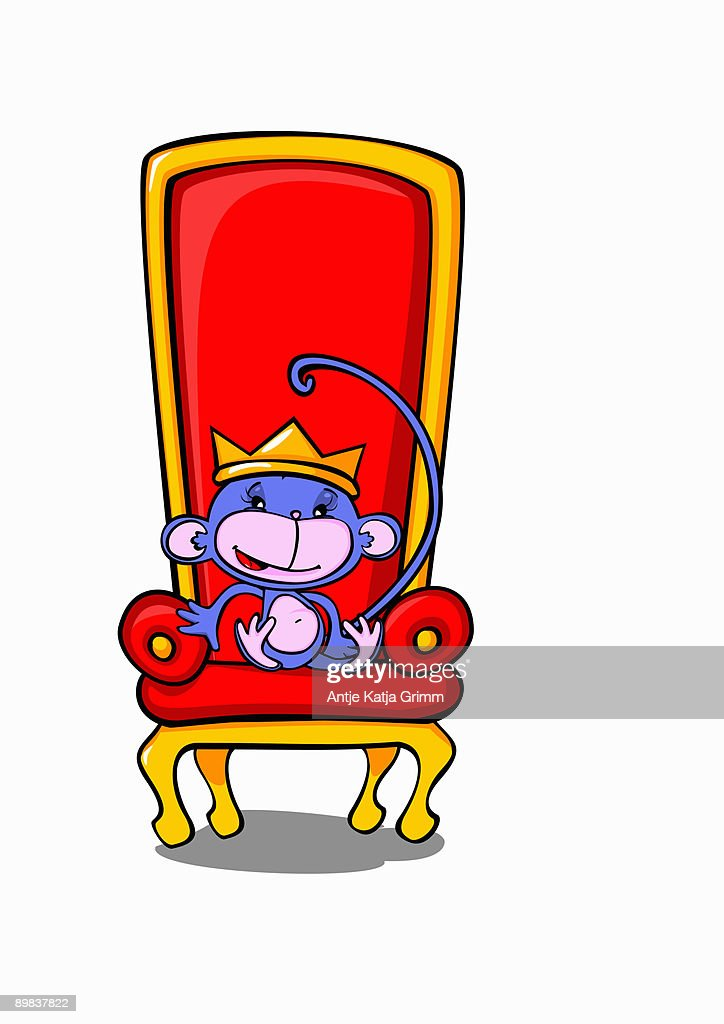 A Monkey Sitting On A Throne Wearing A Crown High Res Vector Graphic Getty Images Crown gemstone , jewel in the crown transparent background png clipart. https www gettyimages com detail illustration monkey sitting on a throne wearing a crown royalty free illustration 89837822