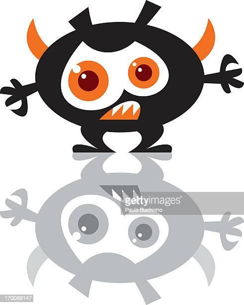 ilustrações de stock, clip art, desenhos animados e ícones de a monster - buchinho