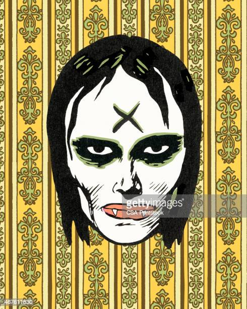 monster - goth stock illustrations, clip art, cartoons, & icons