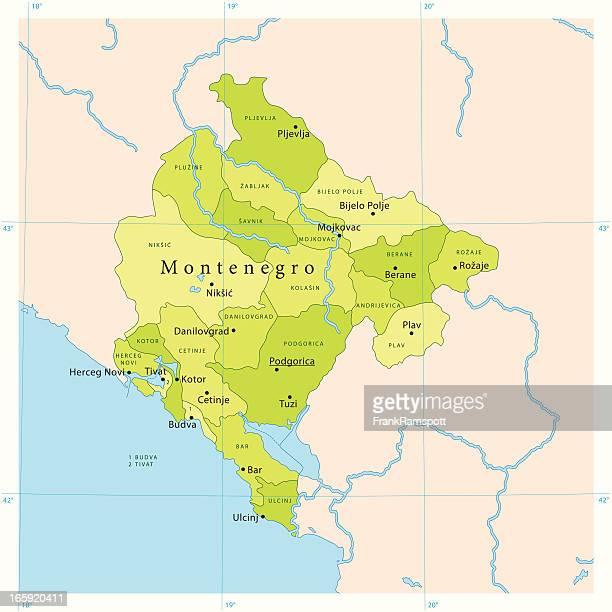 Kotor Montenegro Karte.30 Hochwertige Montenegro Stock Vektoren Und Grafiken