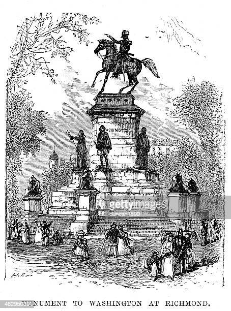 monument to george washington - former stock illustrations, clip art, cartoons, & icons