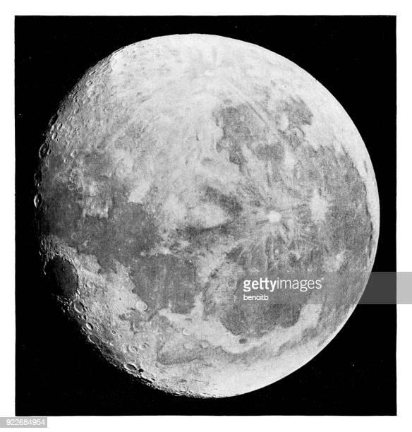 moon - moon stock illustrations