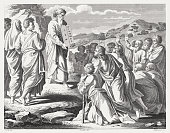 Moses with the New Tablets of the Covenant (Exodus 34)