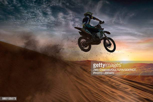 ilustraciones, imágenes clip art, dibujos animados e iconos de stock de motocross racer - motocross