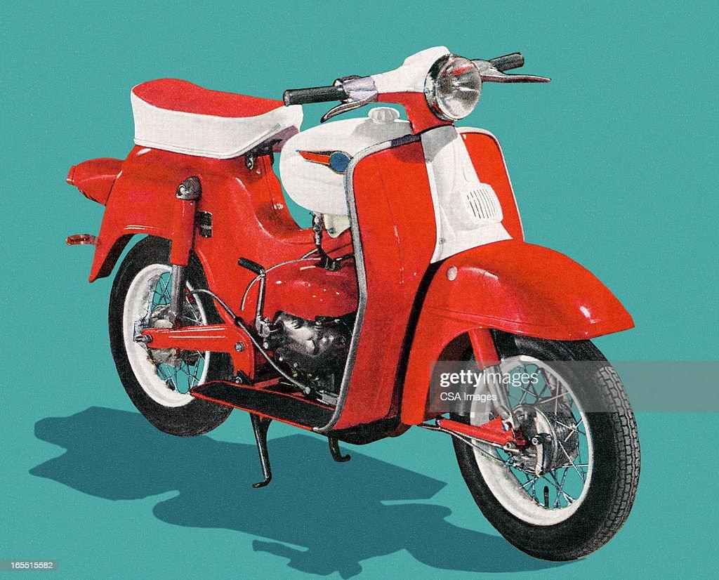 Motorcycle : stock illustration