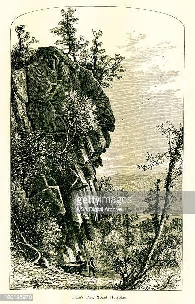 mount holyoke, massachusetts - connecticut river stock illustrations, clip art, cartoons, & icons