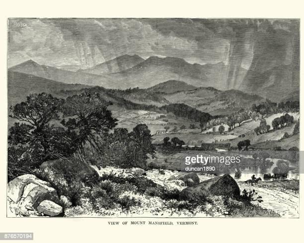 Mount Mansfield, Vermont, 19th Century