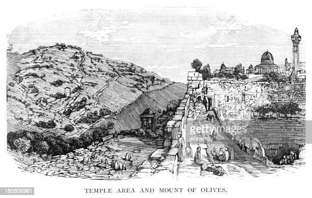 Mount of Olives and Temple area, Jerusalem