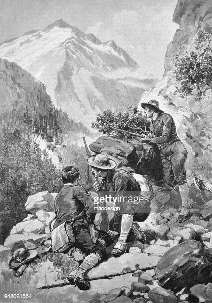 Mountain deer hunting _ 1895