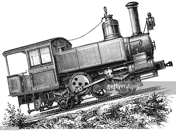 Mountain locomotive