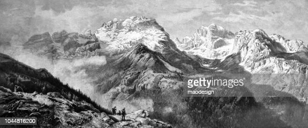 Mountain view - 1895