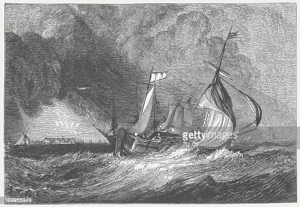 Mouth of the Humber (c.1825), by J.M.W. Turner, published 1882