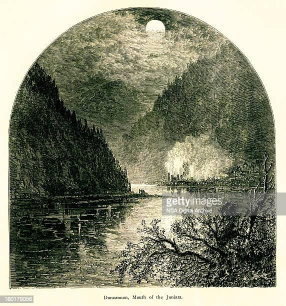 Mouth of the Juniata River, Pennsylvania