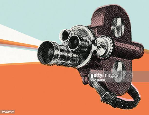 movie projector - movie theater stock illustrations