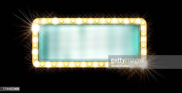 movie sign - movie theater stock illustrations