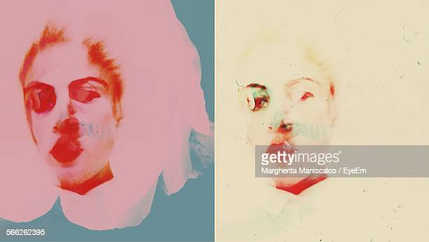 multi colored illustration of woman - young women stock illustrations