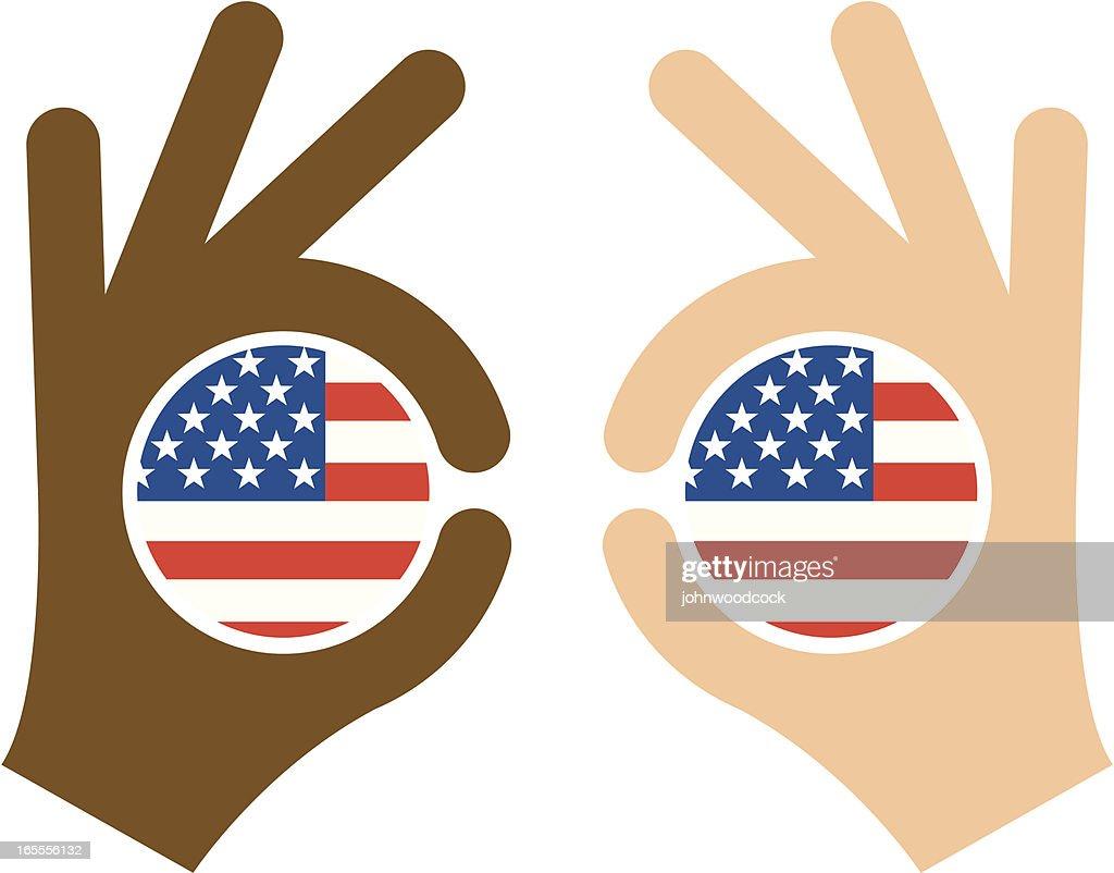 Multi cultural USA