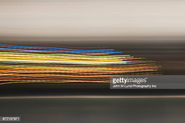 multicolor flowing lines - colour image stock illustrations, clip art, cartoons, & icons