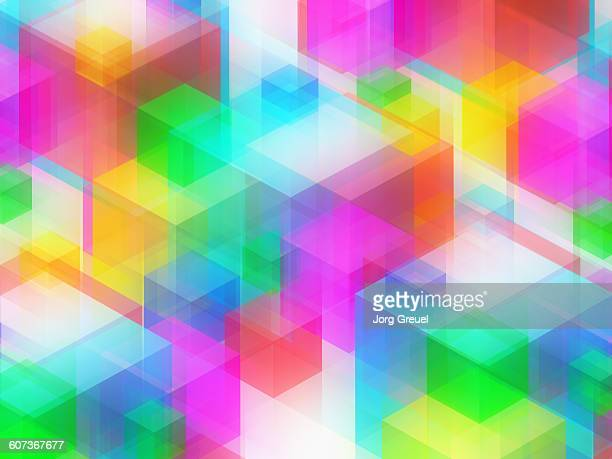 Multicoloured cubes