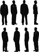 Multiple images of a male doctor