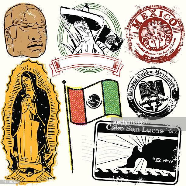 ilustraciones, imágenes clip art, dibujos animados e iconos de stock de mundo de los mexicanos - iguana