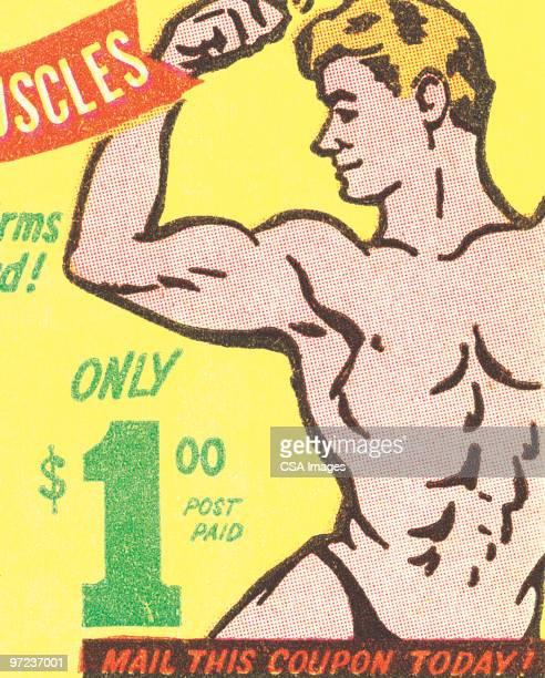 muscle man - ゲイ点のイラスト素材/クリップアート素材/マンガ素材/アイコン素材