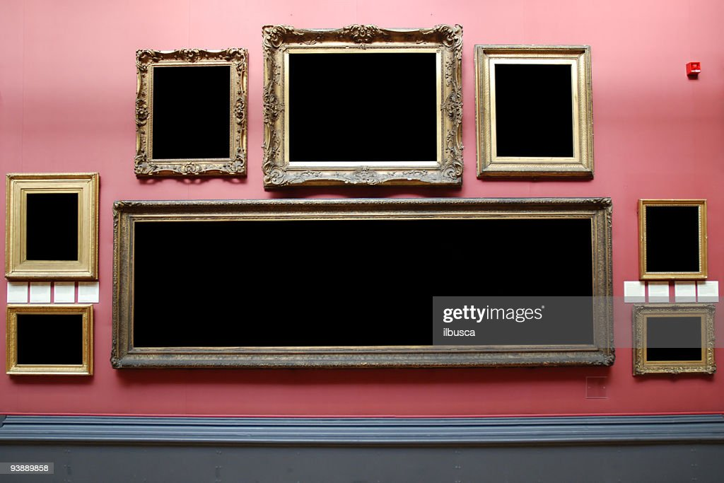 Museum Frames Stock Illustration   Getty Images