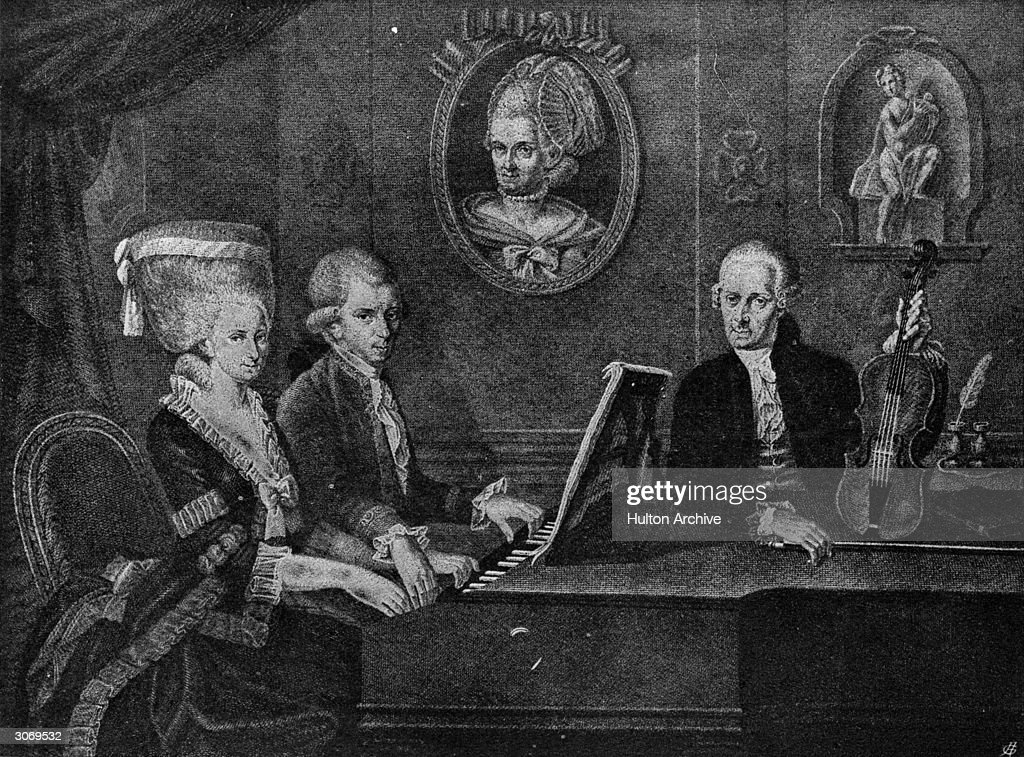 Mozart Family : Nieuwsfoto's